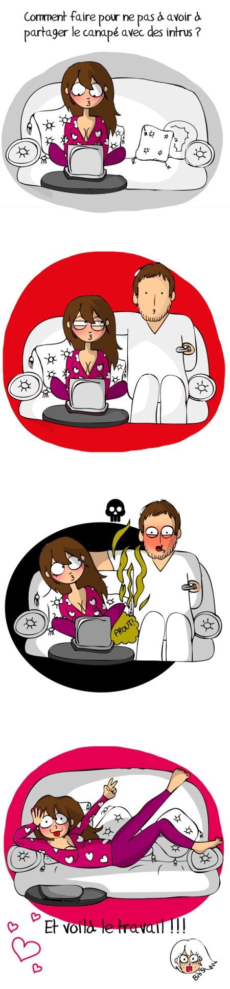 Qui veut prendre sa place, Comic strip, bd, illustration humour, blog girly,